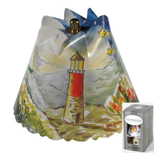 Lighthouse Spin Shade Night Light